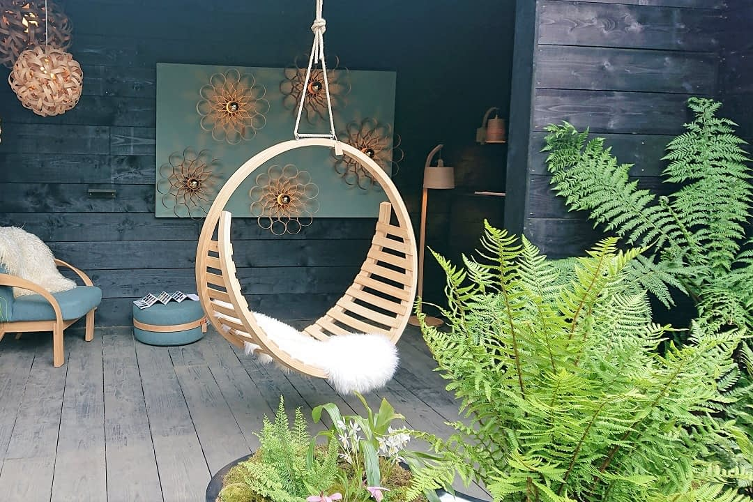 trendy zahrady houpacka
