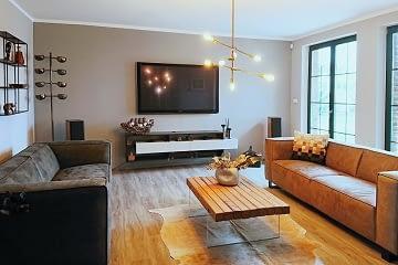 obyvaci pokoj moderni televizni stolek