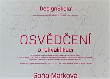 sona markova interior designer requalification