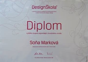 sona markova interior designer diploma