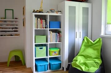 Dětský pokoj skříně