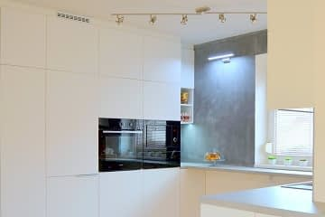 kitchen remodelling white grey
